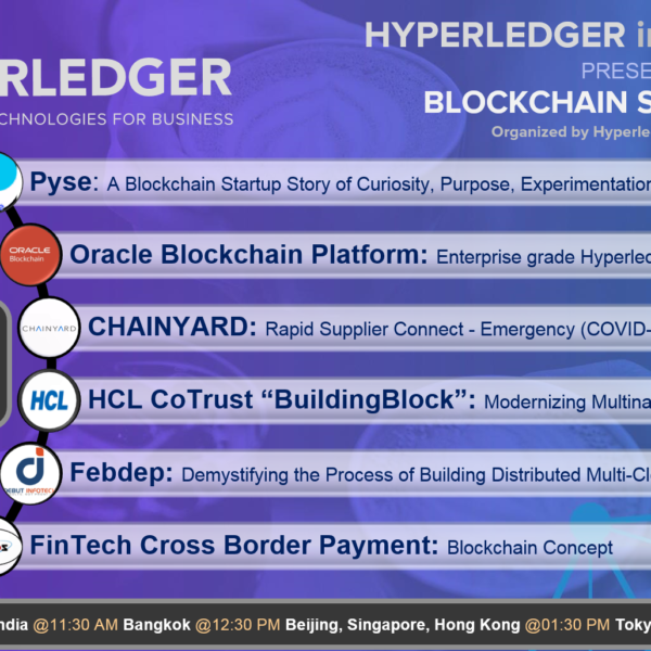 Blockchain Stories 2020 – Week 2: A Hyperledger event