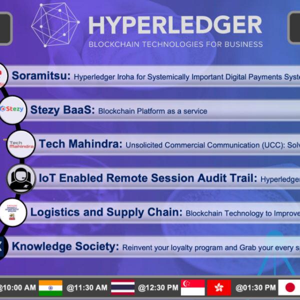 Blockchain Stories 2020 – Week 4: A Hyperledger event