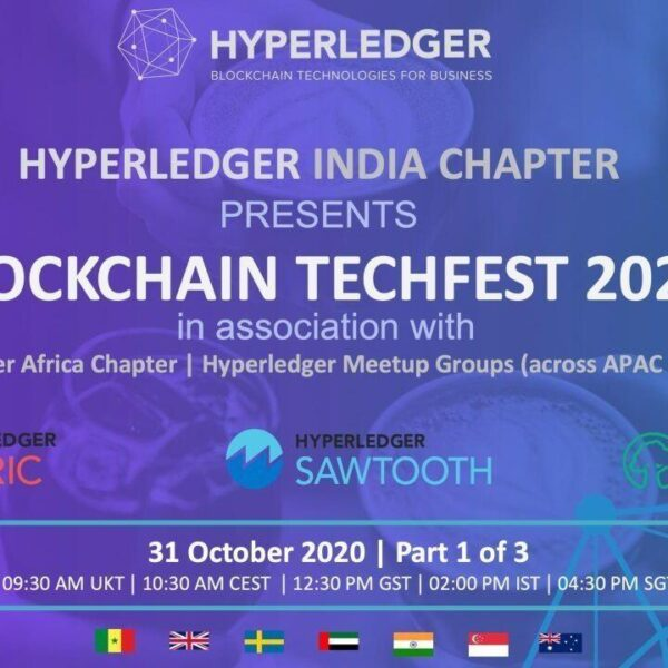 Virtual Event: Blockchain TechFest 2020 is here! Part 1